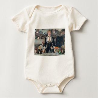 Una barra de Eduardo Manet en el Folies-Bergère Body Para Bebé