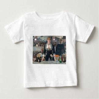 Una barra de Eduardo Manet en el Folies-Bergère Camiseta De Bebé