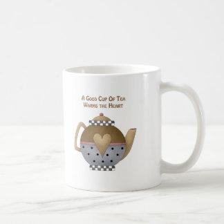 Una buena taza de té calienta el corazón