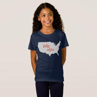 Una camisa de América de la nación