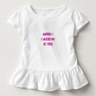 Una camisa más linda de los chicas del autismo