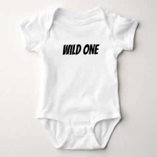 Una camisa salvaje del bebé