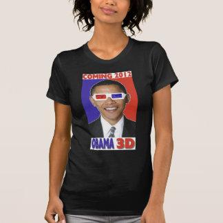 Una camiseta 3D de Barack Obama 2012