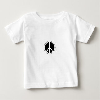 Una camiseta del signo de la paz
