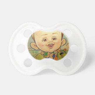 Una caricatura mas mandona muchacho de la alameda chupetes para bebés