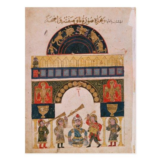 Una carta astrológica india postal