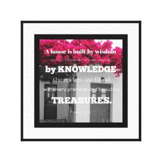 Una casa es impresión construida del arte de la