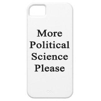 Una ciencia más política por favor iPhone 5 Case-Mate cárcasa