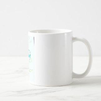 Una cooperación de la compasión por luminosidad taza de café