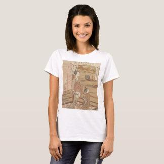 Una de treinta y seis flores (japoneses Edo) Camiseta