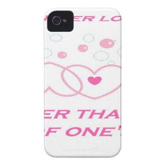 una declaración más verdadera del amor carcasa para iPhone 4
