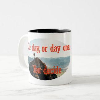 Una día o taza del día uno