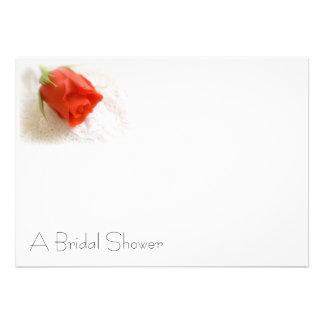 Una ducha nupcial invitación personalizada