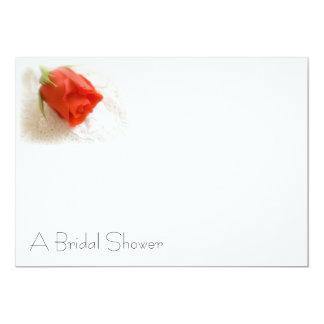 Una ducha nupcial invitación 12,7 x 17,8 cm