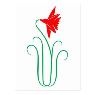Una exhibición floral ELEGANTE Postal
