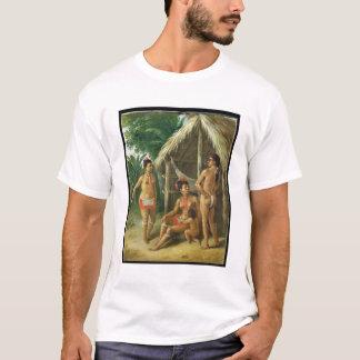 Una familia del Carib de las islas de sotavento Camiseta