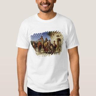 Una familia gitana en el camino, c.1861 camisetas