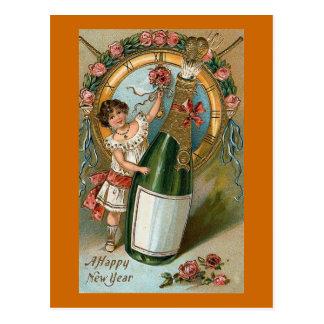 Una Feliz Año Nuevo Postal