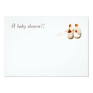 ¡Una fiesta de bienvenida al bebé!! Invitación 12,7 X 17,8 Cm