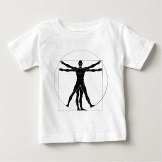 Una figura tiene gusto de anecdotario del hombre camiseta de bebé