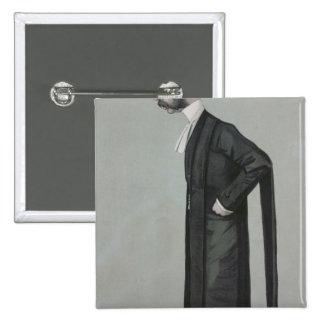 Una forma Vanity Fair del abogado que se divierte Chapa Cuadrada 5 Cm