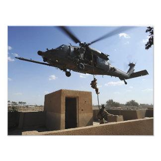 Una fuerza aérea de los E.E.U.U. Pararescuemen Arte Fotografico