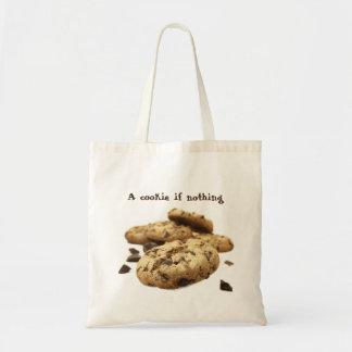 Una galleta si nada bolso de tela