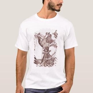 Una grúa camiseta