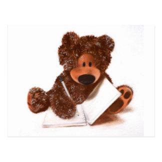 Una historia de los osos, escrita por Sr. Ted Postal
