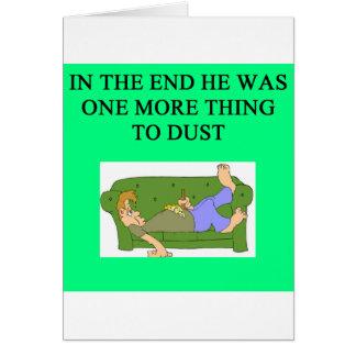 una idea divertida del divorcio para usted tarjeta