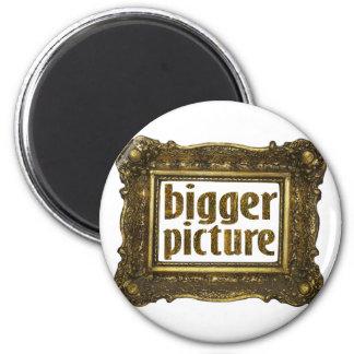 una imagen más grande imán redondo 5 cm