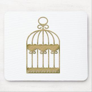 Una jaula es una jaula incluso si es hermosa alfombrilla de ratón