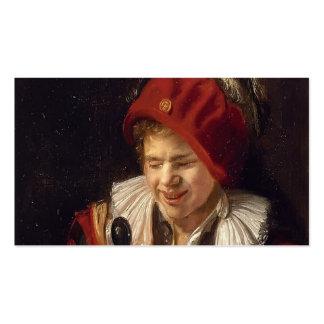 Una juventud con un jarro de Judith Leyster Tarjetas De Visita