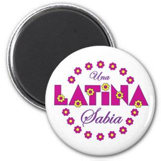 Una Latina Sabia Iman Para Frigorífico