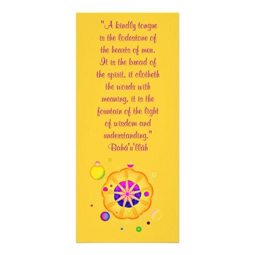 Una lengua bondadosa diseño de tarjeta publicitaria