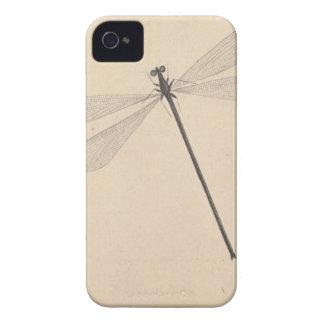 Una libélula, por Nicolás Struyk, temprano décimo Funda Para iPhone 4 De Case-Mate