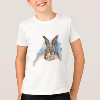 Una liebre, lápiz de la acuarela camiseta