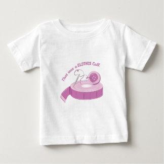 Una llamada de la ropa camiseta de bebé