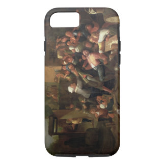 Una lucha fuera de una taberna funda iPhone 7