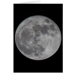 Una luna estupenda en Sedona Tarjeta De Felicitación