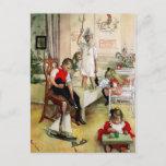 """Una """"mañana de navidad sueca"""" por Carl Larsson"""
