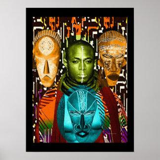 Una máscara del valor póster