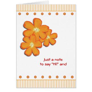 Una mejor pronto tarjeta de la sensación