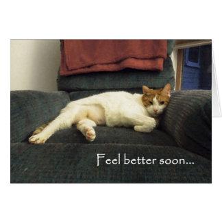 Una mejor pronto tarjeta de la sensación - consiga