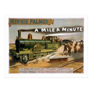 """""""Una milla"""" una postal minuciosa del tren del"""