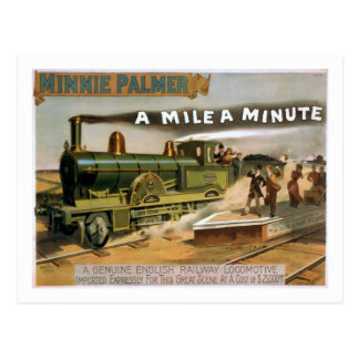 """""""Una milla"""" una postal minuciosa del tren del teat"""