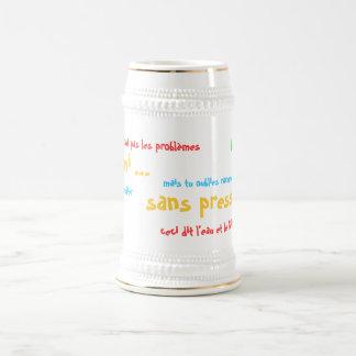 ¡Una mitad…, sin presión!! Jarra De Cerveza