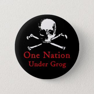 Una nación debajo del botón del grog (cráneo
