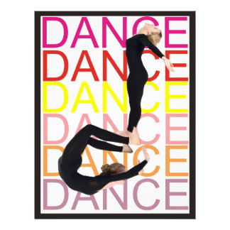 Una nota sobre danza folleto 21,6 x 28 cm
