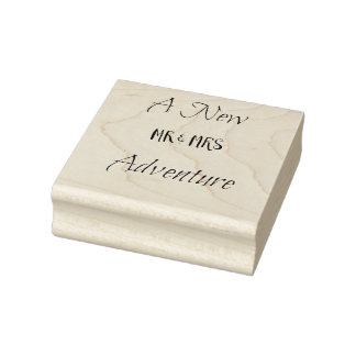 Una nueva aventura sello de caucho